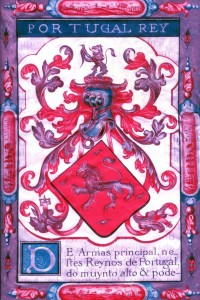 Brasão Carta brasão_1718_1